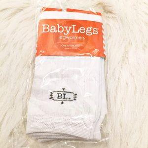 NWT White Baby Legs